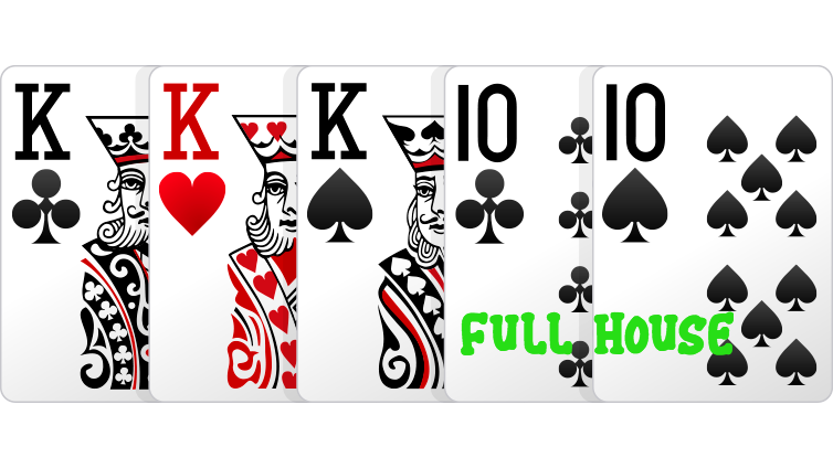 full-house Poker online