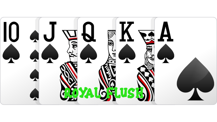 royal-flush Poker Online