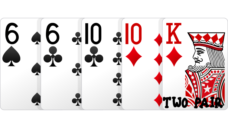 two-pair poker online