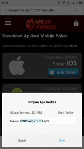 mulai download aplikasi poker