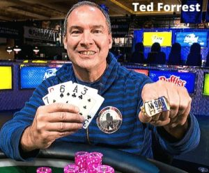 Ted Forrest Pemain poker international